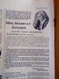 Mrs. Marry Advises