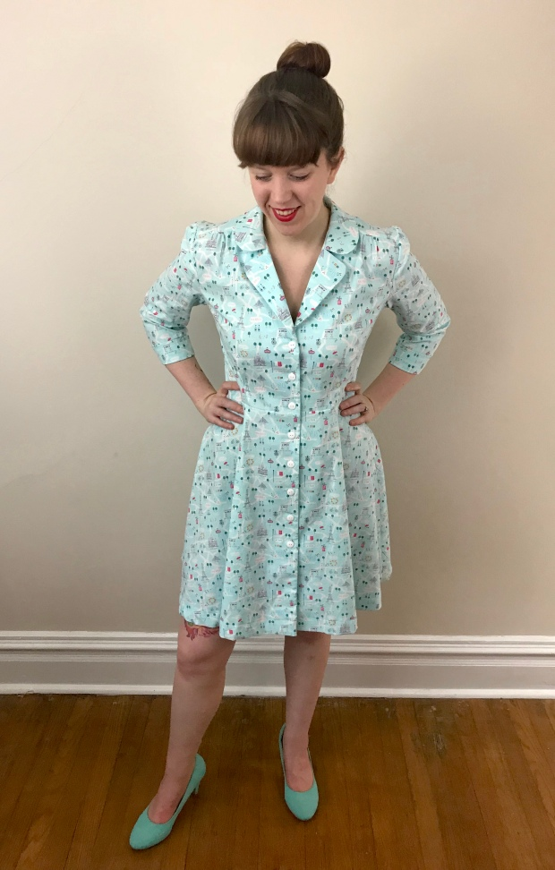 Vintage Shirt Dress (Sew Over It) – Sew for Victory